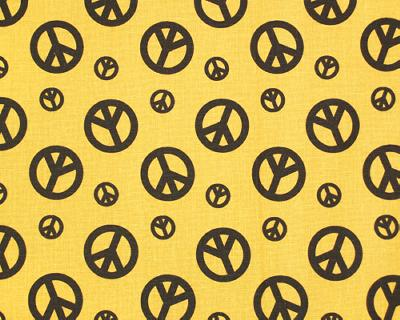 Premier Prints Peace Yellow Dance Chocolate Search Results