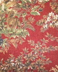Ralph Lauren Ainsworth Cantury Red Fabric