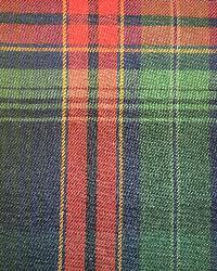 Ralph Lauren Hanley Plaid Navy Hunter Fabric