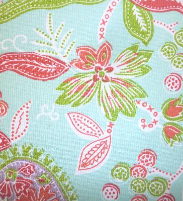 Roth and Tompkins Textiles Addison Surf Modern Paisley