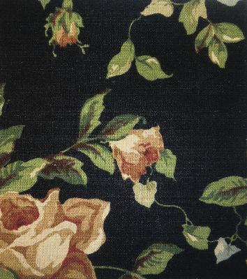 Roth and Tompkins Textiles English Garden Black Roth and Tompkins Fabrics