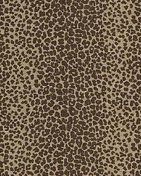 Schumacher Fabric Leopard Linen Print 174840 Java Fabric