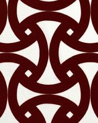 Schumacher Fabric Santorini Print Java Fabric
