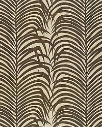 Schumacher Fabric Zebra Palm Jute Print 174970 Java Fabric