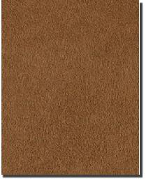 Plush Suede Rust  by