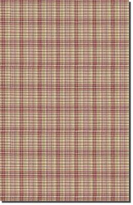 Waverly Pimlico Plaid Rose/Red Waverly Fabrics