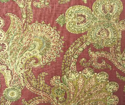 Waverly Hidden Treasure Ruby Waverly Fabrics