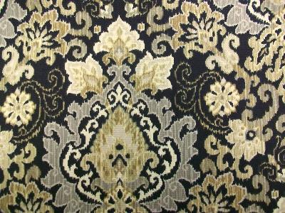 Waverly SNS Magic Carpet Onyx Waverly Fabrics