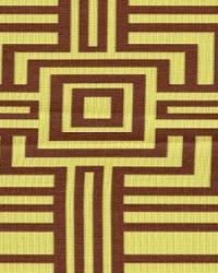 Wesco Mesmerize Kiwi Chocolate Fabric