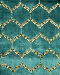 Global Textile Eliza Cerulean Fabric