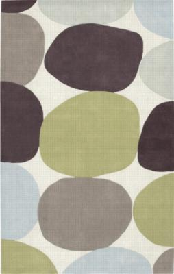 Surya  COS8809 Cosmopolitan Rug Ivory, Pale Blue, Raisin, Choc, Limeade, Pale Mint Search Results