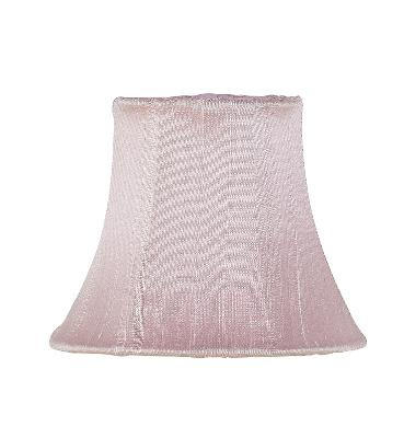 Jubilee Collection Chandelier Shade - Plain Pink Kids Lamps and Shades