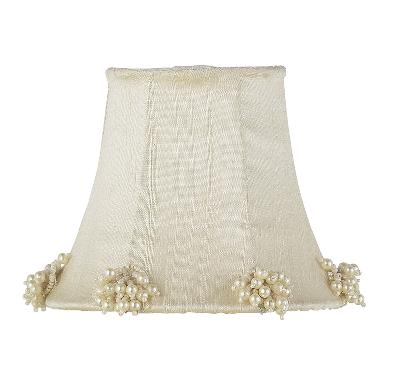 Jubilee Collection Chandelier Shade - Pearl Burst Ivory Kids Lamps and Shades