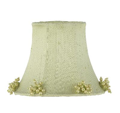 Jubilee Collection Chandelier Shade - Pearl Burst Green Kids Lamps and Shades