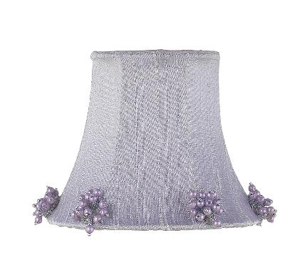 Jubilee Collection Chandelier Shade - Pearl Burst Lavender Kids Lamps and Shades