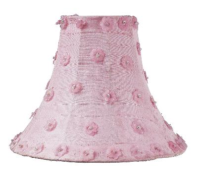 Jubilee Collection Shade - LG - Petal Flower Pink Kids Lamps and Shades