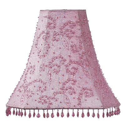 Jubilee Collection Shade - LG - Starburst Pink Kids Lamps and Shades