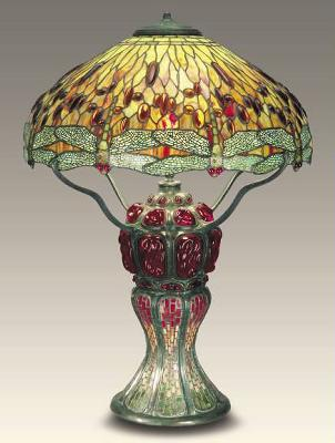 Dale Tiffany Dragonfly Turtleback Tiffany Table Lamp  Search Results