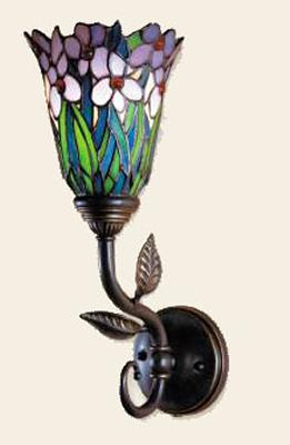 Dale Tiffany Meadowbrook Floral Wall Sconce  Search Results
