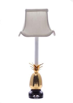 Eurocraft Pineapple Mantle Lamp-Off White  Buffet Lamp