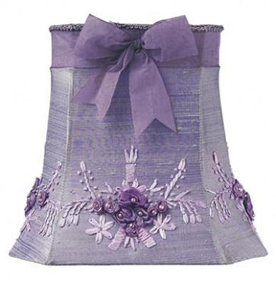 Jubilee Collection  Lavender Floral Bouquet Medium Shade  Kids Lamps and Shades