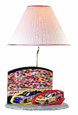 Lite Source Inc Nascar Lamp  Kids Lamps and Shades