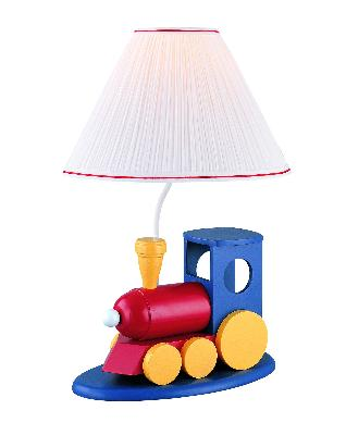 Lite Source Inc Go Go Train Lamp  Kids Lamps and Shades