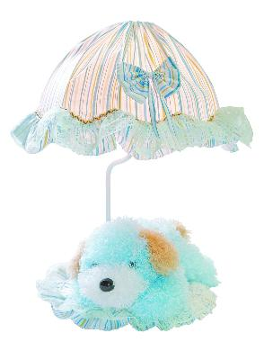 Lite Source Inc Puppy Lamp - Blue  Kids Lamps and Shades