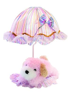 Lite Source Inc Puppy Lamp - Pink  Kids Lamps and Shades