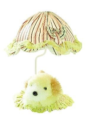 Lite Source Inc Puppy Lamp - Yellow  Kids Lamps and Shades