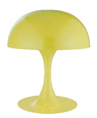 Lite Source Inc Cutie Mini Table Lamp - Yellow  Kids Lamps and Shades
