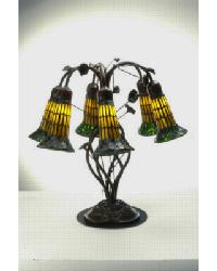 6 Light Lily Table Lamp by
