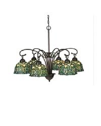 Jeweled Knot 6 Lt Chandelier by