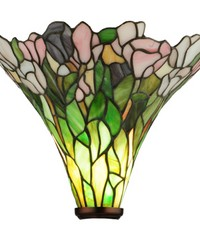 14in W Tulip Torchiere Shade by