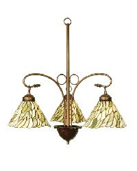 Jadestone Willow 3 Light Chandelier by