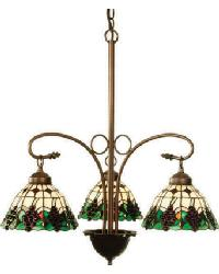 Meyda Grape 3 Light Chandelier by