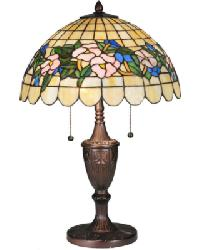 Tiffany Pansy Table Lamp by
