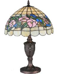 Tiffany Pansy Accent Lamp by