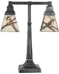 Early Morning Visitors 2 Lt Table Lamp by