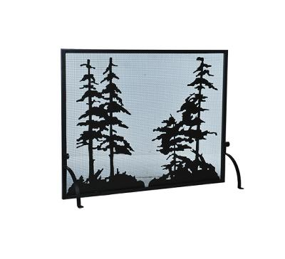 Meyda Tiffany Tall Pines Fireplace Screen Black Mesh Search Results