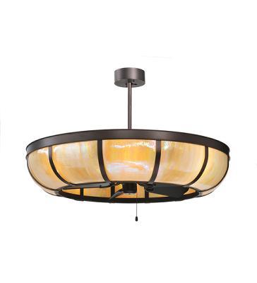 Meyda Tiffany Plain Dome Chandel-Air Mahogany Bronze/Beige Iridescent Search Results