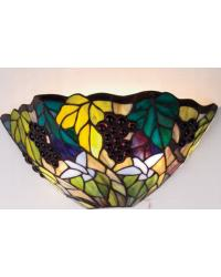 Spiral Grape Wall Sconce by