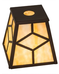 8in Sq Diamond Mission Shade by