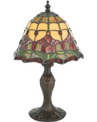 Colonial Tulip Accent Lamp by