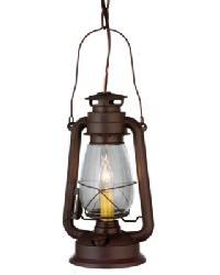 Miners Lantern Mini Pendant by