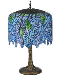 Tiffany Wisteria Table Lamp by