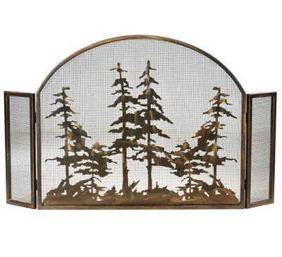 Meyda Tiffany Tall Pines Arched Fireplace Screen Antique Copper Mesh Search Results