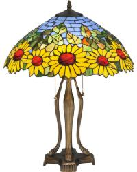 Wild Sunflower Table Lamp by