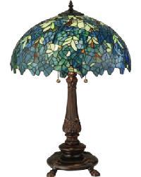 Nightfall Wisteria Table Lamp by