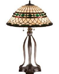 Tiffany Roman Table Lamp by